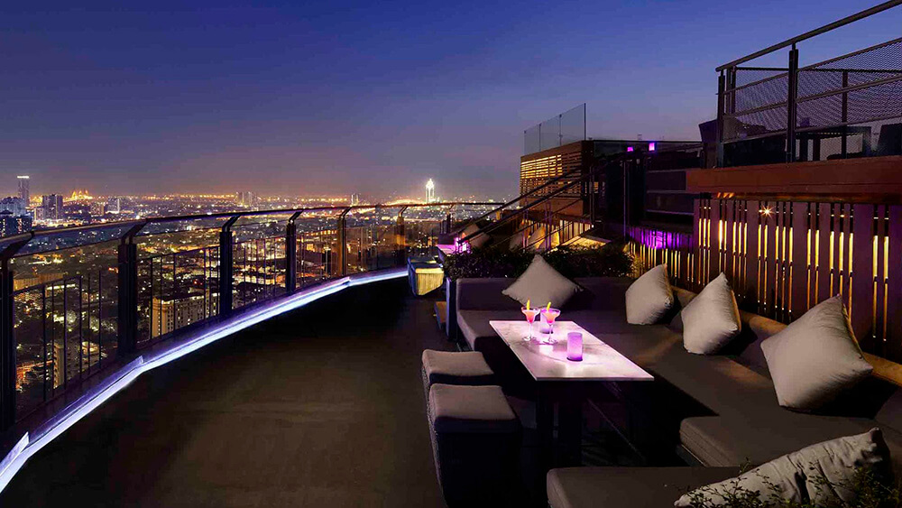 Zoom Sky Bar at Anantara Sathorn in Bangkok